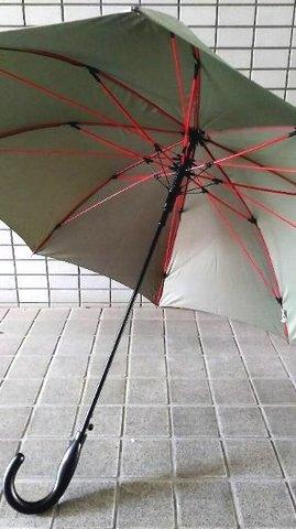 赤い骨の傘 カーキ.JPG
